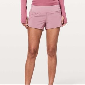 Lululemon speed up short high rise size 6
